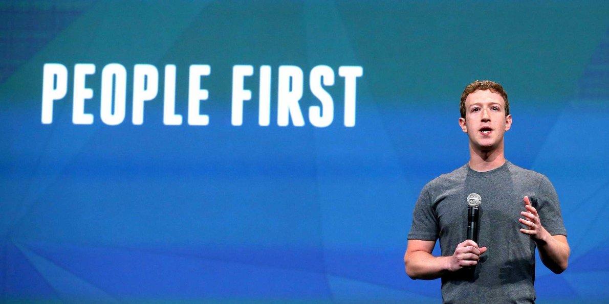 Mark Zuckerberg - mudanças no Facebook 2018 - WebShare