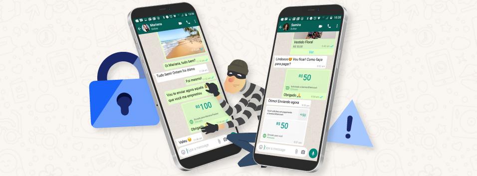 whatsapp pay nao cair em golpes e perder dinheiro