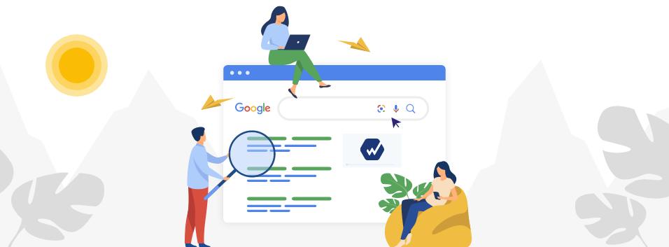 imagem de entrada para o texto sobre como melhorar ranking no googleproduzido pela webshare